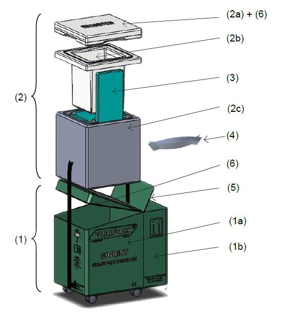 componentes Vitalpack