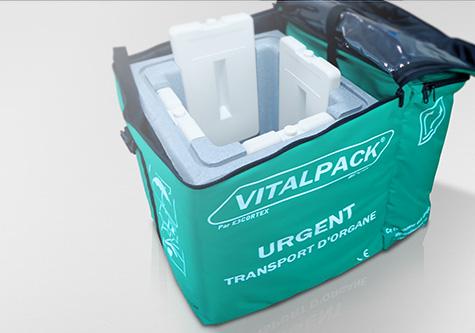 Vitalpack transporte de órganos