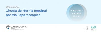 cirugía laparoscópica de la hernia inguinal
