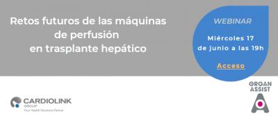 Retos futuros de las máquinas de perfusión en trasplante hepático