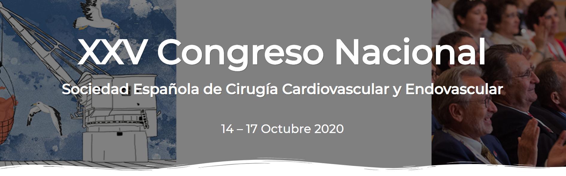XXV Congreso Nacional de la Sociedad Española de Cirugía Cardiovascular y Endovascular (SECCE)