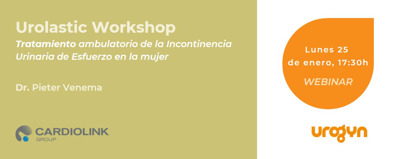 Urolastic workshop tratamiento ambulatorio incontinencia urinaria de esfuerzo en la mujer