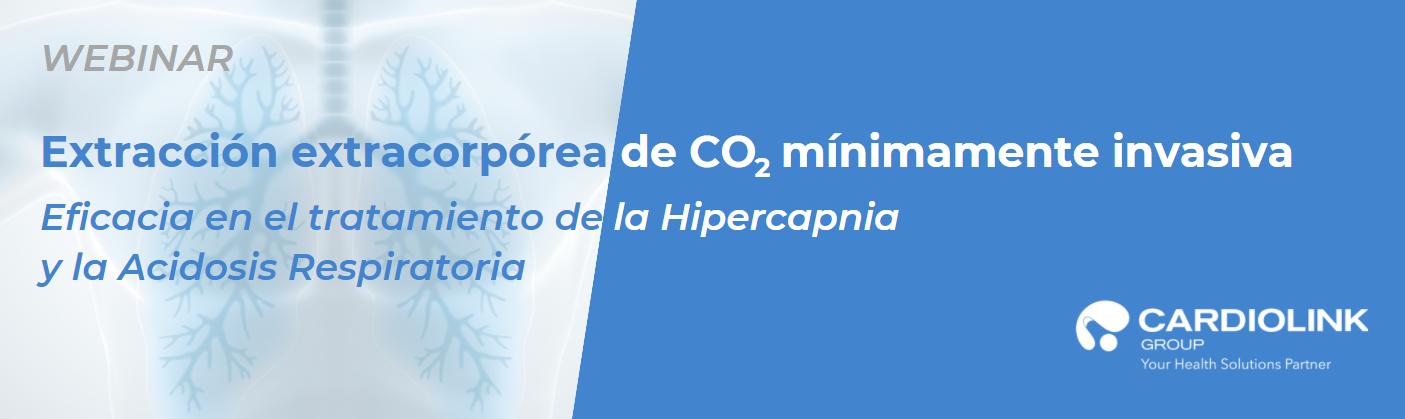 Webinar: Extracción extracorpórea de CO2 mínimamente invasiva